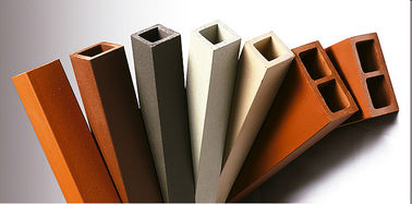 Good Quality Terracotta Facade Panels & Anti - Fade Terracotta Baguette Louver Square Type For Building Sunscreen on sale
