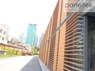 Ventilated Facade Ceramic Tile Facade Cladding For Building Exterior Wall