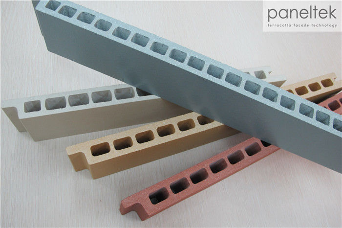 30mm Thickness Waterproof Terracotta Ceramic Tile For Ventilated ...