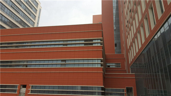 Modern Terracotta Ventilated Exterior Building Facade Materials With High  Strength Part 87