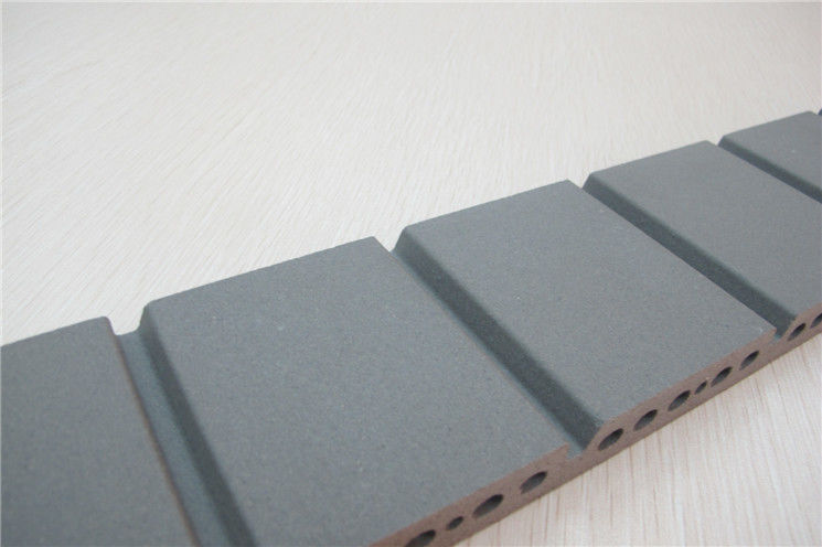 Grey exterior wall materials grooved external wall - Exterior wall finishes materials ...
