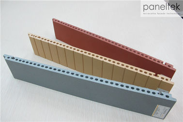 18MM Thickness Building Facade Panels Fire Resistance With 300 - 1500mm Length