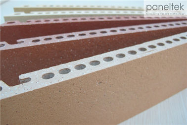 Sandblasted Exterior Wall Materials , Anti - Fire Exterior Wall Panel Materials