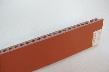 Red Terracotta Building Construction Materials Weather Resistance Wall Panels