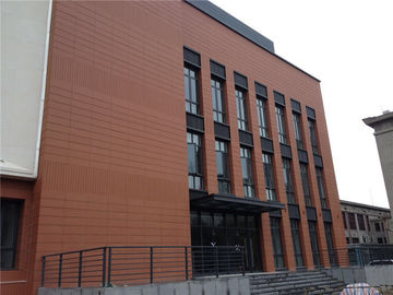 Terracotta Rainscreen Facade Systems / External Cladding Systems Composite Panel